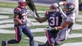 Patriots defensive back Jonathan Jones