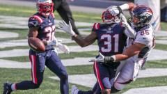 Patriots defensive back Jonathan Jones