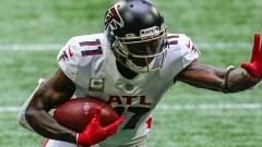 Falcons wide receiver and potential Patriots trade target Julio Jones