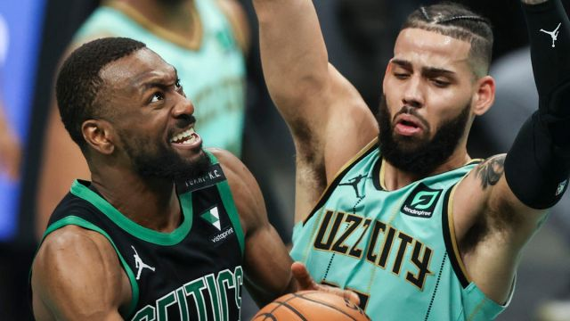 NBA: Boston Celtics at Charlotte Hornets