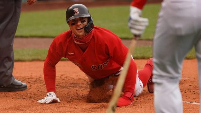Boston Red Sox infielder Kiké Hernández