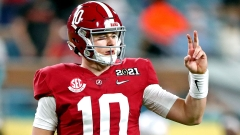 Alabama Crimson Tide quarterback Mac Jones
