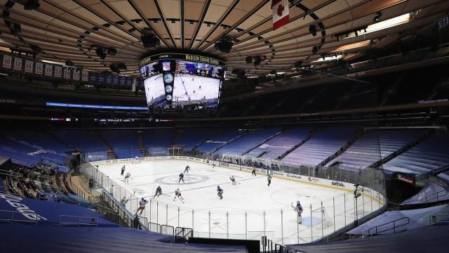 New York Rangers arena Madison Square Garden