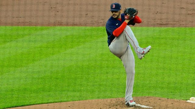 Boston Red Sox starting pitcher Martín Pérez