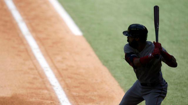 Boston Red Sox utility player Marwin Gonzalez