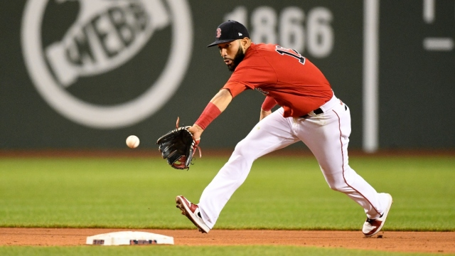 Boston Red Sox infielder Marwin González