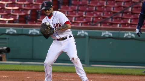 Boston Red Sox infielder Michael Chavis