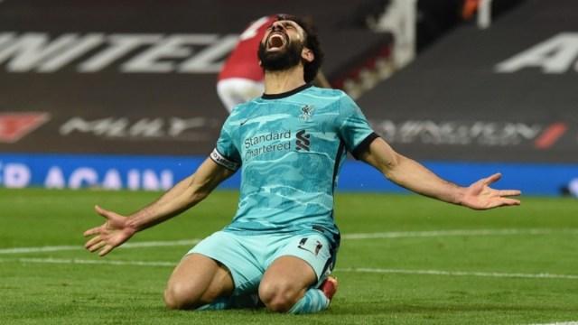 Liverpool forward Mohamed Salah