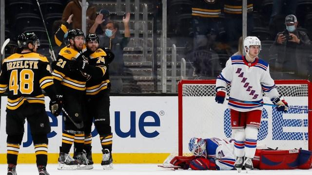 Boston Bruins winger Nick Ritchie