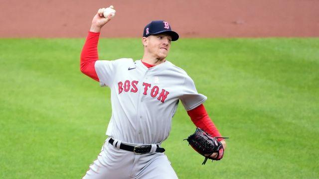 Boston Red Sox starting pitcher Nick Pivetta