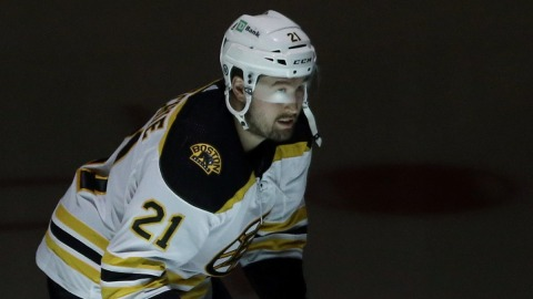Boston Bruins Forward Nick Ritchie