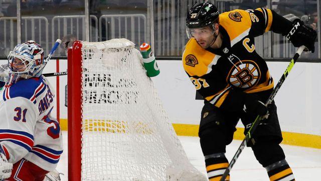 Boston Bruins Forward Patrice Bergeron