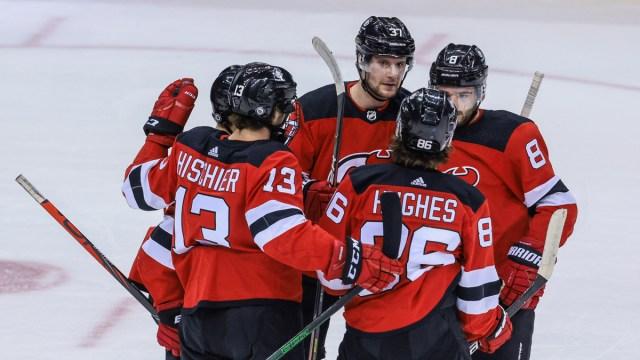 New Jersey Devils Center Pavel Zacha