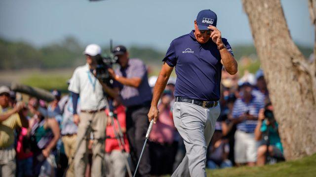 PGA golfer Phil Mickelson