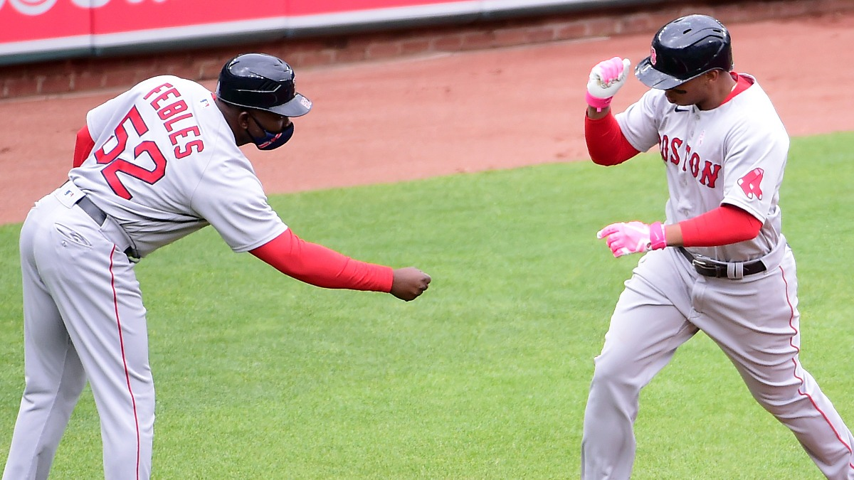 Rafael Devers Has Been Hitting Machine For Red Sox At Camden Yards