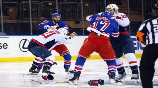New York Rangers Vs. Washington Capitals
