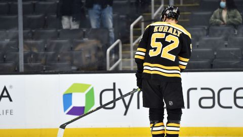 Boston Bruins forward Sean Kuraly