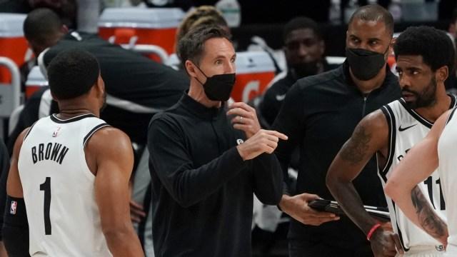 Brooklyn Nets Head Coach Steve Nash