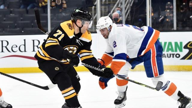 Boston Bruins Forward Taylor Hall