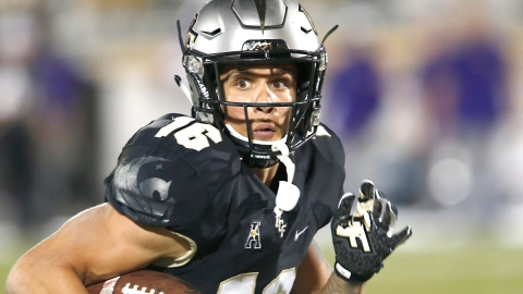 UCF Knights wide receiver Tre Nixon