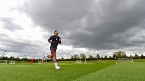 Liverpool defender Virgil van Dijk