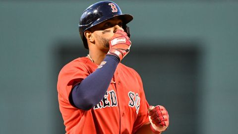 Boston Red Sox shortstop Xander Bogaerts