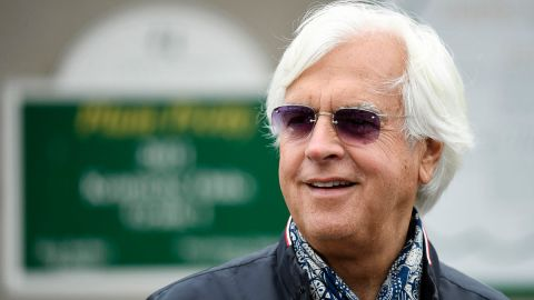 Horse trainer Bob Baffert