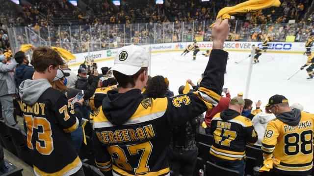 Boston Bruins fans