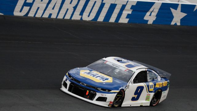 NASCAR drivers Chase Elliott