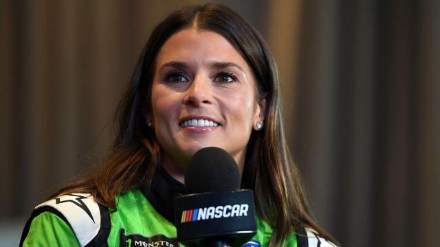 Retired NASCAR driver Danica Patrick