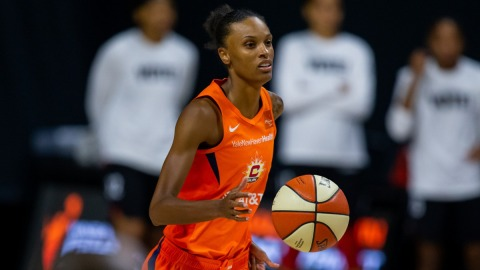 Connecticut Sun forward DeWanna Bonner
