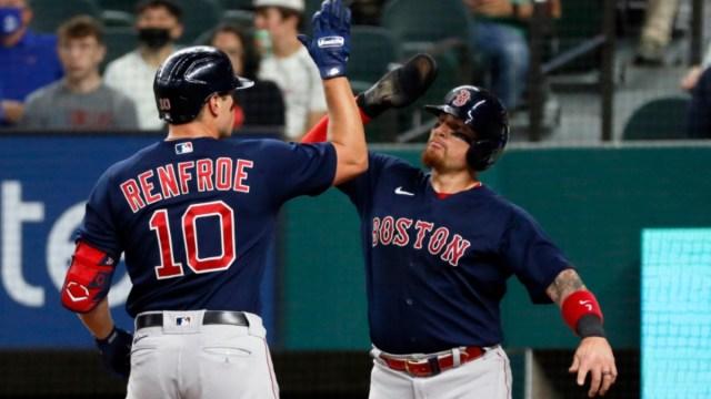 Boston Red Sox right fielder Hunter Renfroe