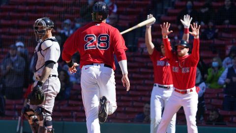 Boston Red Sox player JD Martinez