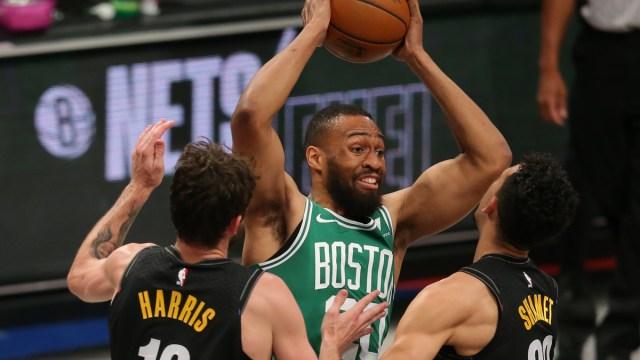 Boston Celtics power forward Jabari Parker