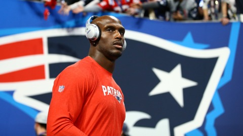 New England Patriots cornerback Jason McCourty