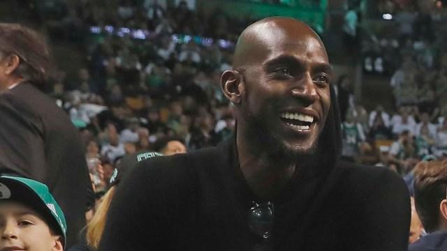 Former Boston Celtics Star Kevin Garnett