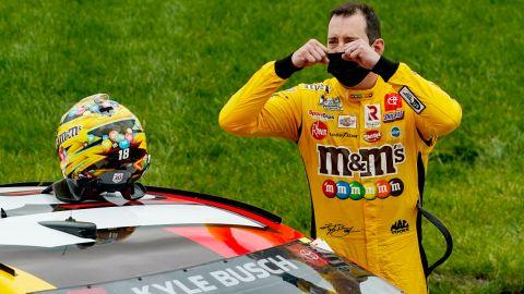 NASCAR driver Kyle Busch