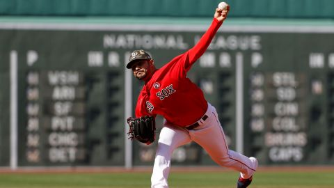 Boston Red Sox pitcher Martin Perez
