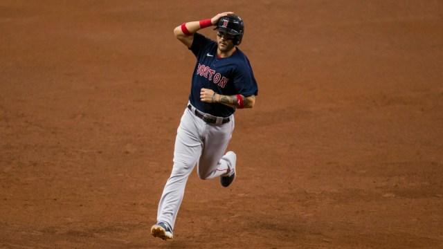 Boston Red Sox second baseman Michael Chavis