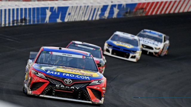 NASCAR drivers at Charlotte Motor Speedway