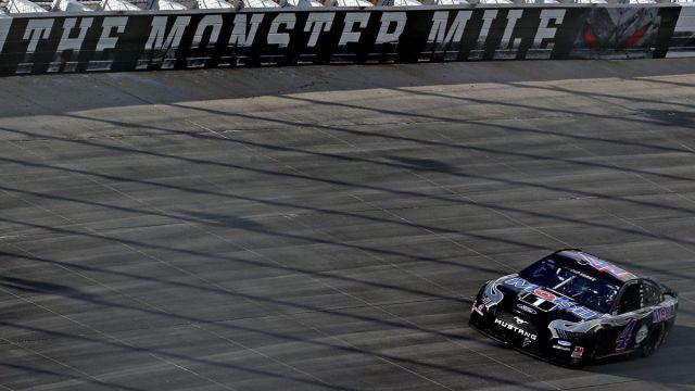 NASCAR drivers at Dover International Speedway