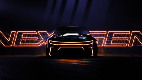 NASCAR next-gen car