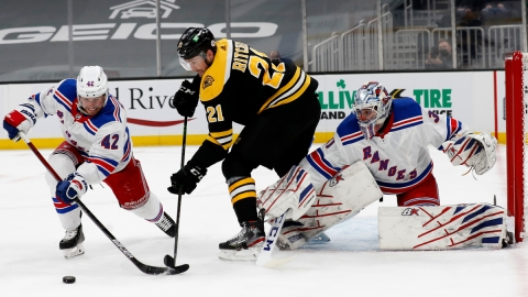 Boston Bruins left wing Nick Ritchie