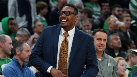 Former Boston Celtics player Paul Pierce