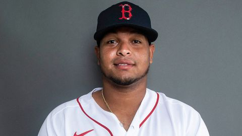 Boston Red Sox catcher Ronaldo Hernandez