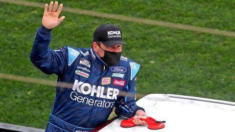 NASCAR driver Ryan Newman