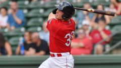 Boston Red Sox infielder Triston Casas