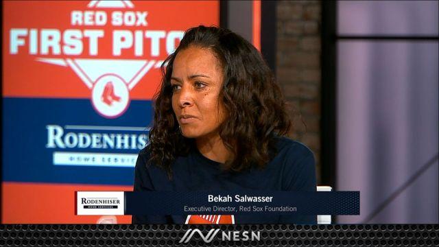 Red Sox Foundation's Bekah Salwasser