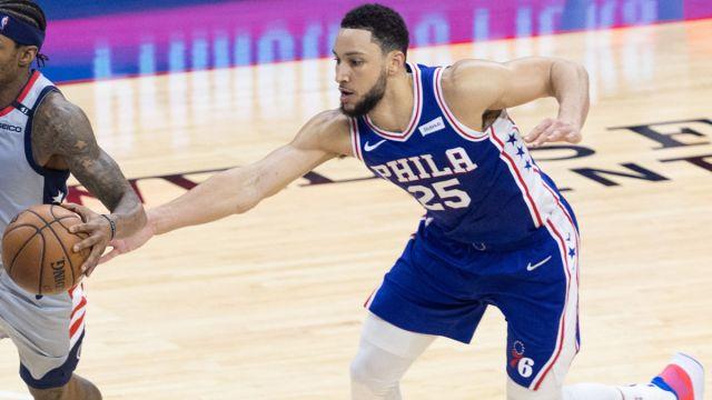 Philadelphia 76ers guard Ben Simmons