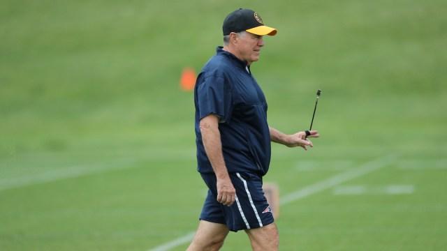 Patriots head coach Bill Belichick